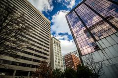 Columbia, South Carolina Downtown Stock Photos