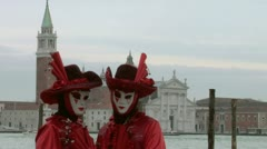 Venetian mask 64 Stock Footage