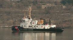 USCGC Penobscot Bay 1 Stock Footage