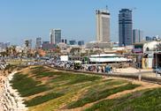 Tel-aviv beach Stock Photos