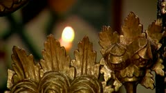 Altar Gate Close Up Stock Footage