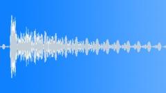 Cinematic Boom DelayHit 05 - sound effect