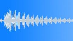 Cinematic Boom DelayHit 02 - sound effect