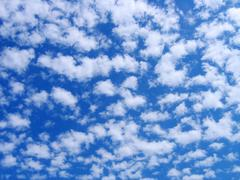 Fluffy clouds 2 Stock Illustration