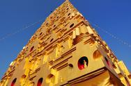 Thai golden Bodh Gaya Stock Photos