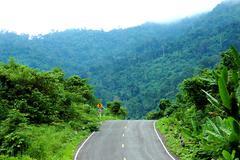 Stock Photo of Mountain road