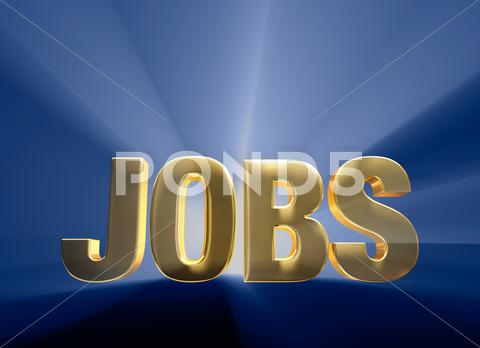 Stock Illustration of exciting jobs