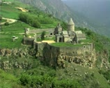 Stock Video Footage of Armenia12Tatev view