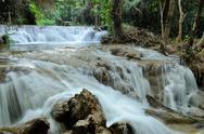 Greang Gavea water fall in Thailand Stock Photos