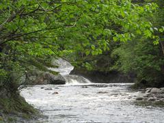 Closer Waterfalls Stock Photos