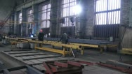 Stock Video Footage of plant, work in the workshop