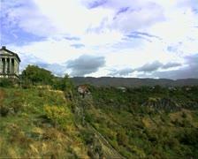 Armenia02Garni Stock Footage