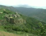 Stock Video Footage of Armenia18Tatev view
