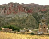 Stock Video Footage of Armenia08Noravank