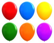 baloons - stock photo