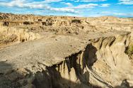 Desolate Desert View Stock Photos