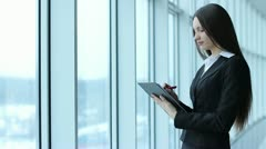 businesswoman - stock footage