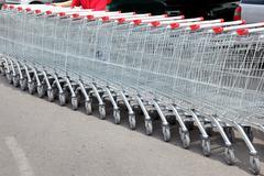 Shoppingcarts Stock Photos