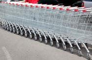 Stock Photo of shoppingcarts