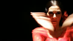 Feria Flamenco spain Stock Footage