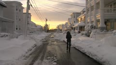 Blizzard Storm Stock Footage