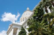 Stock Photo of sacramento capitol building of california