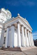 Stock Photo of tuomiokirkko church in helsinki, finland