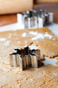 Gingerbread dough Stock Photos
