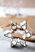 Gingerbread dough Stock Photos