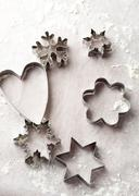 gingerbread cutters - stock photo