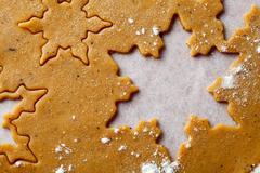 Stock Photo of gingerbread dough
