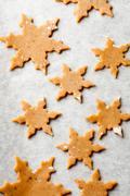 gingerbread dough - stock photo