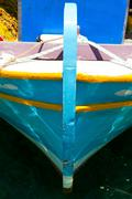 Detail of a fishing boat Stock Photos