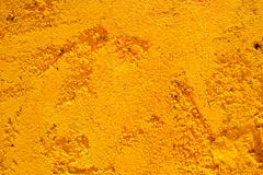 yellow stone wall background - stock photo