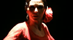 Dance Flamenco  spain Stock Footage