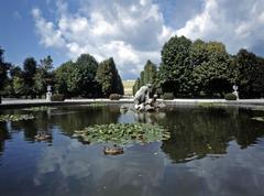Schonbrunn palace, vienna Stock Photos