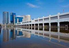 Thai tulva osumia keskustassa Kuvituskuvat
