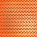 Retro orange hexagon dots background Stock Illustration