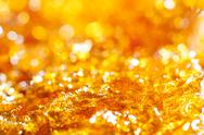 Stock Photo of caramel gold glitter