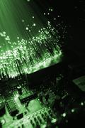 Fiber otical Stock Photos