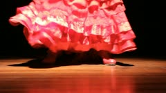 Flamenco culture Dance  Stock Footage