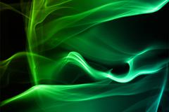 color smoke - stock photo