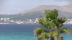 Spain - Majorca - Alcudia Bay Stock Footage
