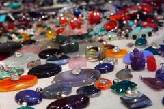 Gems and jewelry Stock Photos