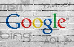 Google and Competition Stock Illustration