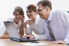 Colleagues - stock photo