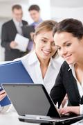 Working women Stock Photos