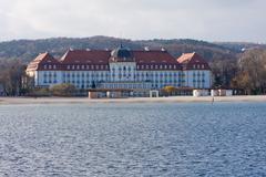 Historical grand hotel Stock Photos