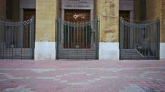 Bari, Italy - Chiesa di S. Ferdinando Church Stock Footage