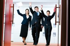 Successful business group Kuvituskuvat